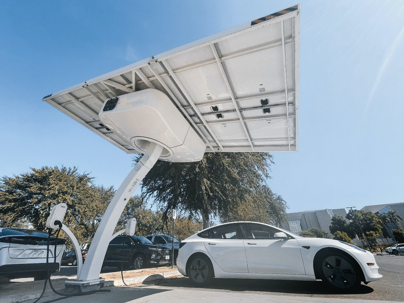 Electric Vehicle Charger Points